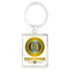 California Portrait Keychain