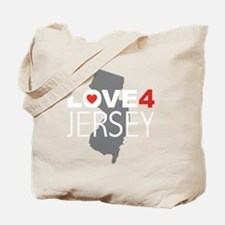 Love 4 Jersey Tote Bag