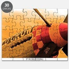 P-51 Mustang Old Crow Puzzle