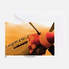 P-51 Mustang Old Crow Greeting Card