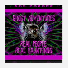Ghost Adventures Zak Bagans Tile Coaster