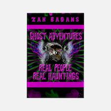 Ghost Adventures Zak Bagans Rectangle Magnet