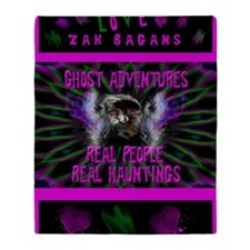 Ghost Adventures Zak Bagans Throw Blanket