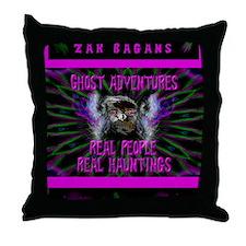 Ghost Adventures Zak Bagans Throw Pillow