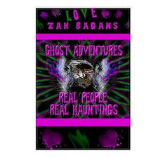 Ghost Adventures Zak Baga Postcards (Package of 8)