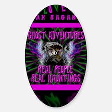 Ghost Adventures Zak Bagans Sticker (Oval)