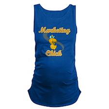 Marketing Chick #2 Maternity Tank Top