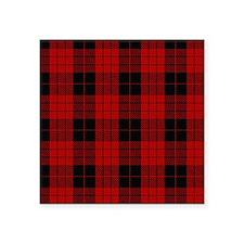 """McCleod MacCleod Tartan Pla Square Sticker 3"""" x 3"""""""