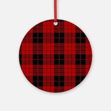 McCleod MacCleod Tartan Plaid Round Ornament