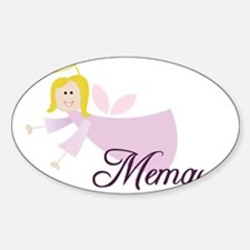 Memaw Angel Decal