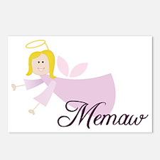 Memaw Angel Postcards (Package of 8)