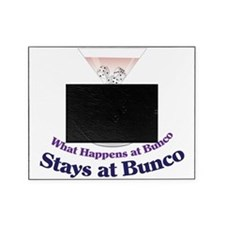 What Happens at Bunco Picture Frame