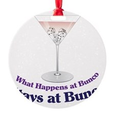 What Happens at Bunco Ornament