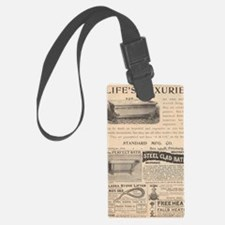 Back in The Day Luggage Tag