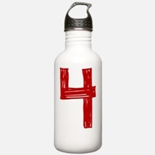 4red Water Bottle