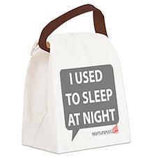 Nightlifepost.com I Used To Sleep Canvas Lunch Bag