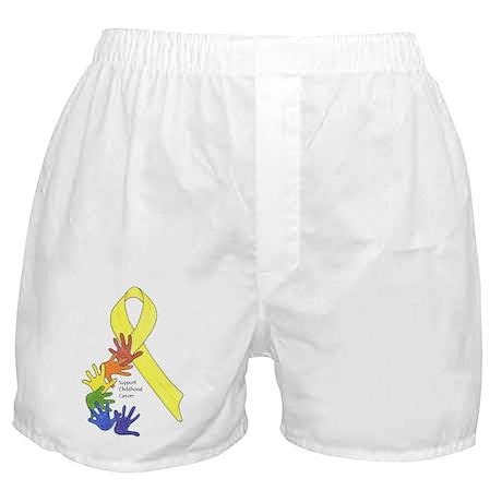 Support Childhood Cancer Boxer Shorts