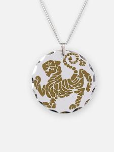 tigre shotokan Necklace