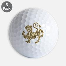 tigre shotokan Golf Ball