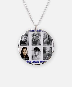 Well-Behaved Women Seldom Ma Necklace
