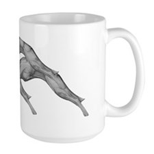 Revised Leaping Greyhound Mug