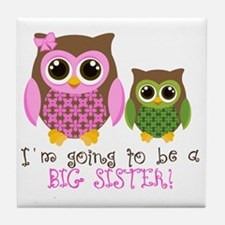 Big sister Tile Coaster