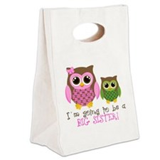 Big sister Canvas Lunch Tote