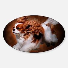 RosieRunning Sticker (Oval)