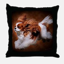 RosieRunning Throw Pillow
