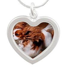 RosieRunning Silver Heart Necklace