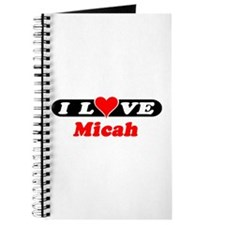 I Love Micah Journal