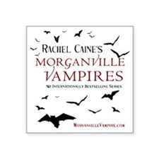 "The Morganville Vampires by Square Sticker 3"" x 3"""
