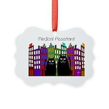 medical assistant tote CATS Ornament