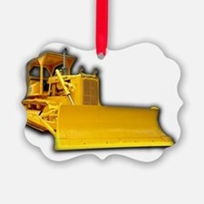 Bulldozer Ornament