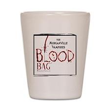 Morganville Vampires Blood Bag Shot Glass
