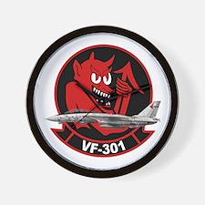 F-14 Tomcat VF-301 Wall Clock