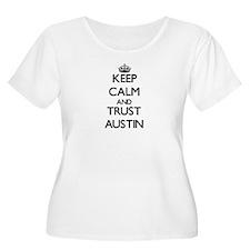 Keep Calm and TRUST Austin Plus Size T-Shirt