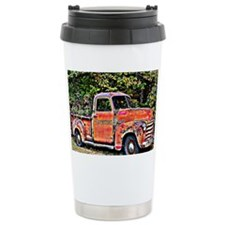 Antique Chevy Truck Cro Travel Mug