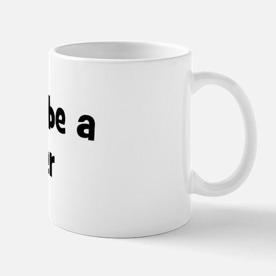 Rather be a Reindeer Mug