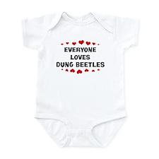 Loves: Dung Beetles Infant Bodysuit