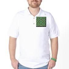 Classic Pop Art Billiards Table Game In T-Shirt
