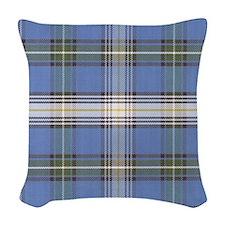 MacDowell Tartan Plaid Woven Throw Pillow