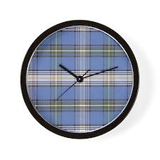 MacDowell Tartan Plaid Wall Clock