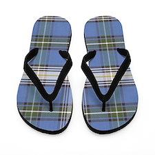 MacDowell Tartan Plaid Flip Flops
