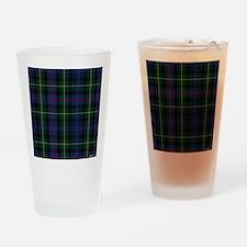 MacKenzie Tartan Shower Curtain Drinking Glass