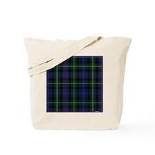 MacKenzie Tartan Shower Curtain Tote Bag