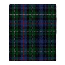 MacKenzie Tartan Shower Curtain Throw Blanket