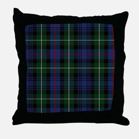 MacKenzie Tartan Shower Curtain Throw Pillow