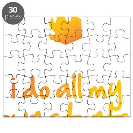 I Do All My Own Stunts Puzzle