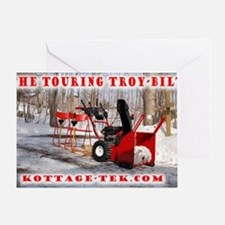 The Touring Troy-Bilt Greeting Card